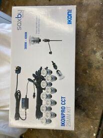 IKON PRO CCT - 25mm Decking Kit, 10 x 0.75W LED Heads, CCT: 3000/4000K, IP67, Stainless Steel