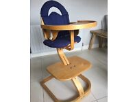 Svan Wooden High Chair... 6 months to adult chair