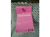 Tu treggings, size 10, new with tags