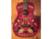 Gretsch guitar.