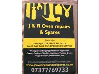 J&R OVEN REPAIRS & SPARES. | FREE CALL OUT