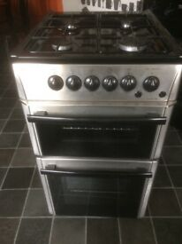 BEKO Gas Cooker Stainless steel and Black