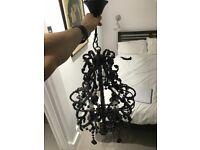 Beautiful glass glass chandelier light fitting
