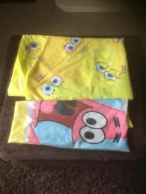 Spongebob Squarepants Single Duvet Set