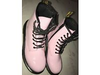 Genuine DR Martens size 4 baby pink