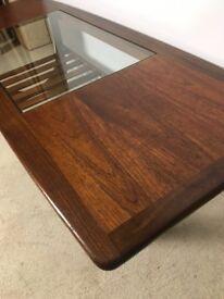 Vintage Retro G Plan Teak and Glass Coffee Table