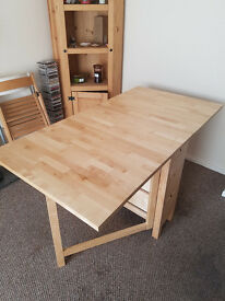 NORDEN Birch Dining Table 26/89/152x80cm