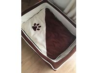 Medium Dog Bed 65x55cm vgc