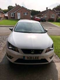 Seat Leon FR 184 BHP Rare Diamond White With Technology Pack