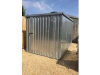 Expandastore Steel Shed