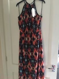 Red herring maxi dress