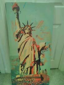 New York - Statue of Liberty canvas