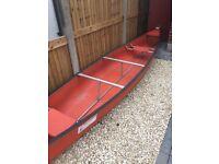 Coleman ram x-17 Canadian canoe