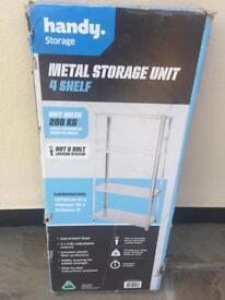 Metal storage racking