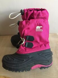 Sorel girls Snow boots