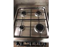 Indesit gas cooker stainless steel 50cm