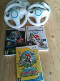 Mario games and wheels