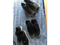 selection of size 7 boys trainers