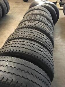 Set of LT245/65R16 truck tires