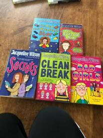 Jaqueline Wilson book collection