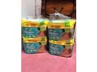 344 Pampers Baby Dry Size 4 Nappies