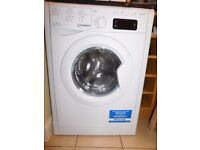 INDESIT - IWDE 7168 Washer Dryer - White ( 4 years FULL Breakdown Cover Replacement care plan)