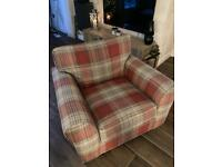 Next Michigan Chair and Storage Footstool