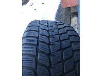 255/35/19 Bridgestone run flat Winter tyres x4