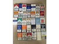 URGENT - Cigarette boxes packet world collection - empty collector classic packets - Marlboro