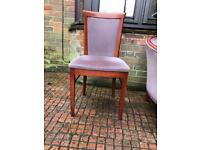 Sturdy dining chair (50 available) Perfect Reupholstery Project