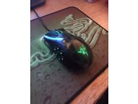 Razer Naga Hex gaming mouse and mat