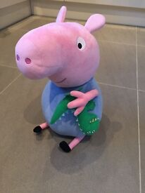 Peppa pig George soft toy