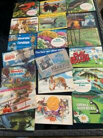 Large collection of cards in books 20 books full £20