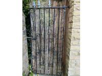 Garden gate wrought iron size 66h x 81 W