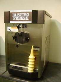 Electro Freeze Ice Cream Machine, CS4 (current model), Counter Top unit, Gravity Feed.