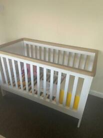 Mamas & Papas Solid Cot Bed Excellent Condition