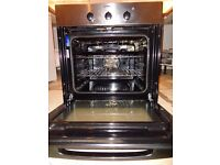 Indesit built in fan oven with grill function