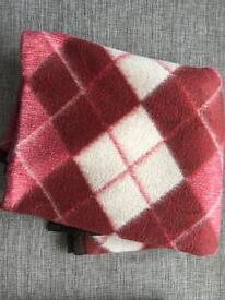 Genuine Turkish blanket (100% wool) NEW ! Not used