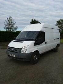 2007 Lwb h/roof transit t350 psv march 18 good driver take small px