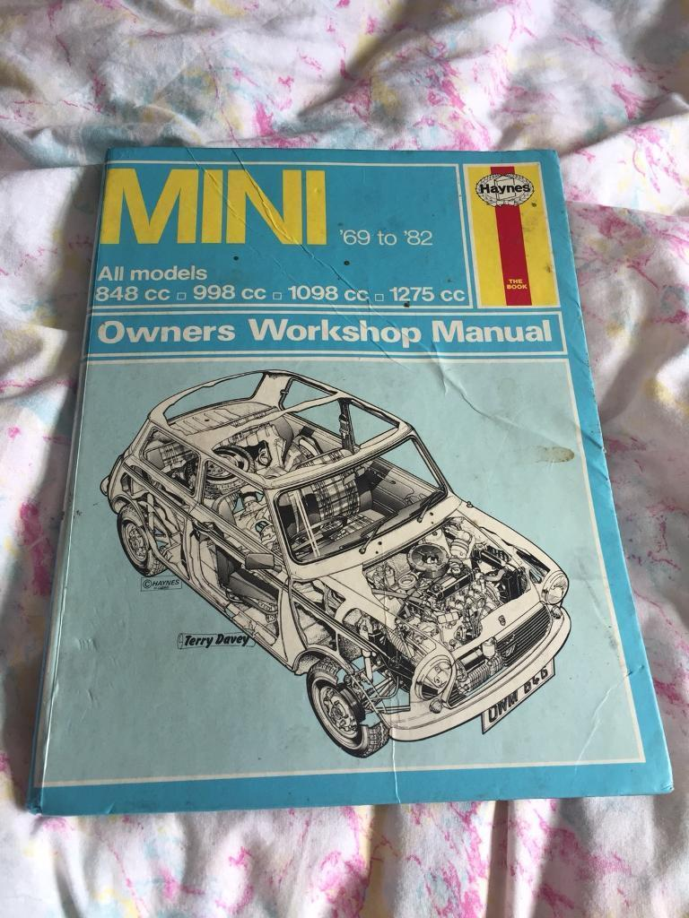 Classic mini owners workshop manual