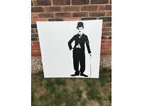 Ikea Charlie Chaplin Canvas