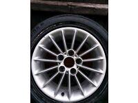 4 x Bmw alloy wheels no tyres