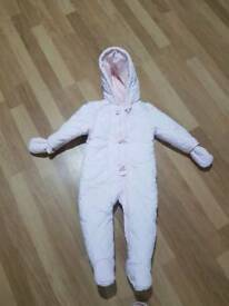 Mothercare snowsuit (6 - 9 months)