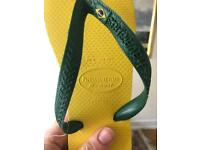HAVAIANA GENUINE FLIP FLOPS - Unworn, as new, UK6 - BARGAIN £10