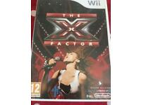 Wii game X factor