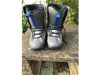 Snow pro snowboard boots- Size 3 (US 4)