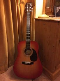 Perfect Beginner Guitar -- Hudson Acoustic