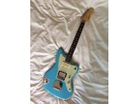 Fender blacktop Jazzmaster - modded