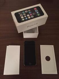 ** IPHONE 5S 16GB SPACE GRAY UNLOCKED BOXED **