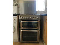 Nearly New Hotpoint Ultima Stainless Steel Gas Oven
